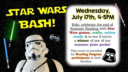 Star Wars Bash (Family Final Party) | Eustis Memorial Library
