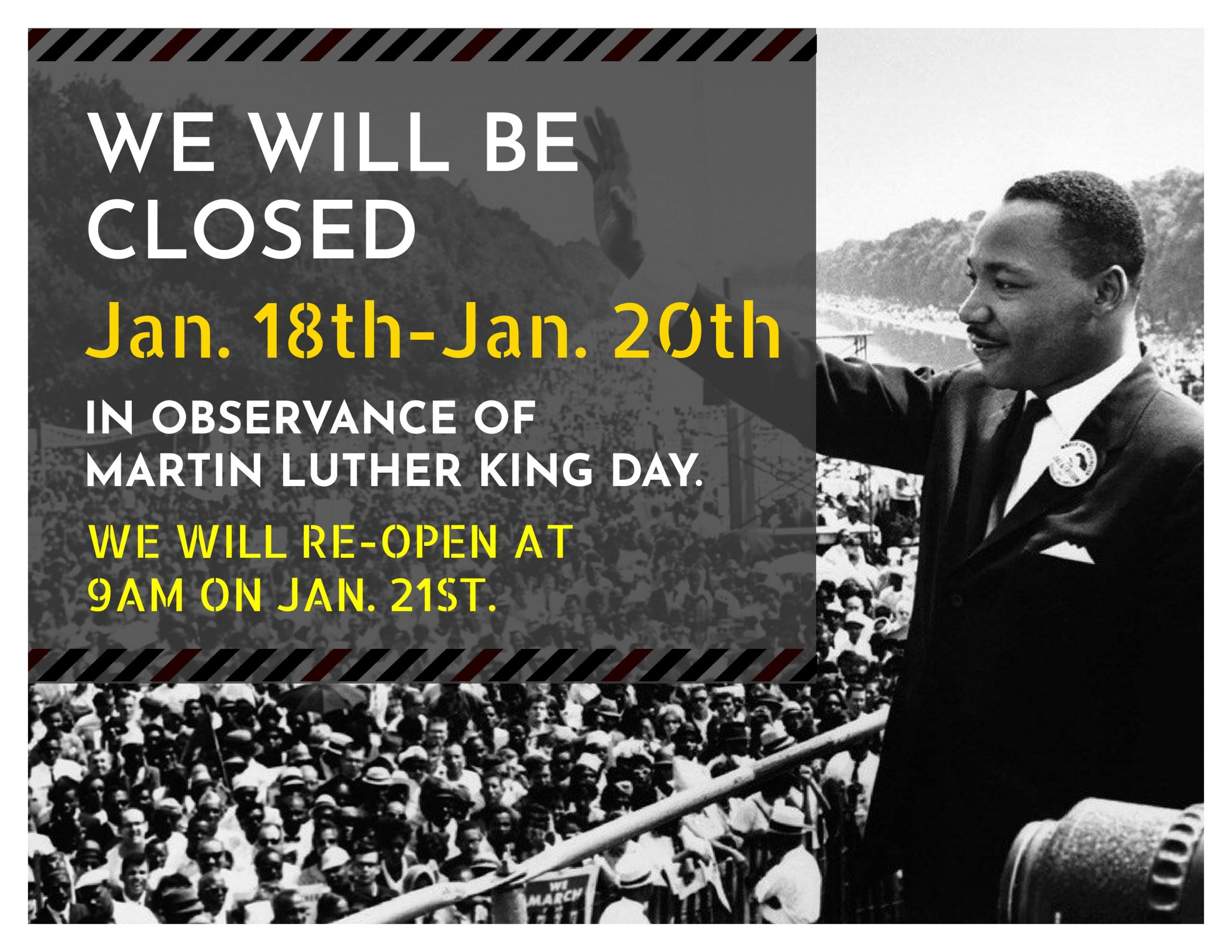 Martin Luther King Day >> Library Closed For Martin Luther King Jr Day Eustis